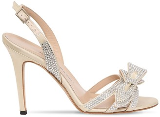 d9bf34d091 Alessandra Rich 105mm Embellished Satin Sandals