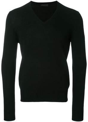 Prada cashmere v-neck jumper