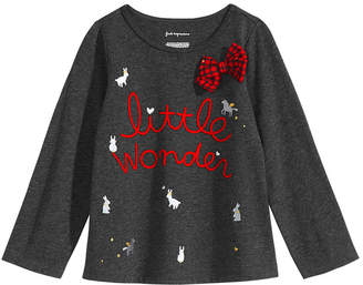First Impressions Toddler Girls Wonder-Print T-Shirt