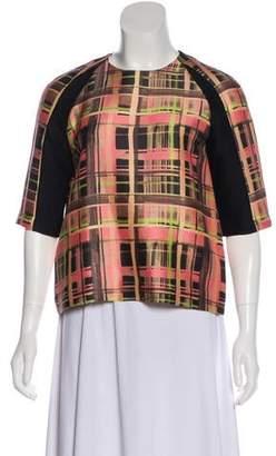 Marissa Webb Wool and Silk-Blend Top