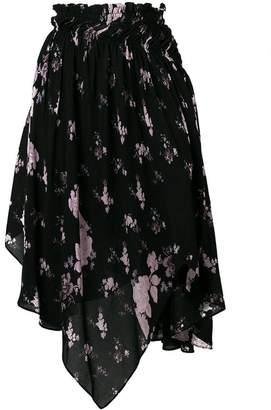 Preen Line wild flower print skirt