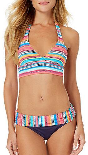 Anne ColeAnne Cole Marilyn Banded Bikini Top