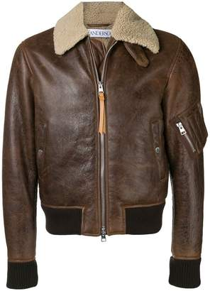 J.W.Anderson shearling collar jacket