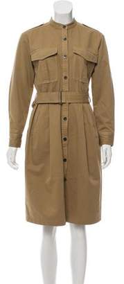 Dries Van Noten Knee-Length Trench Dress