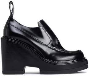 Paco Rabanne Leather Platform Loafers