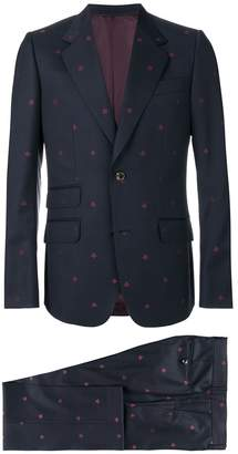 Gucci Heritage Bees two piece suit