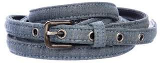 Rag & Bone Denim Wrap-Around Belt