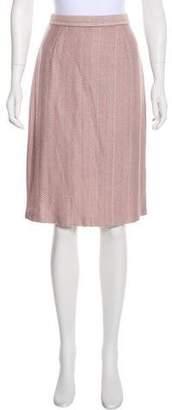 St. John Knit Pencil Skirt