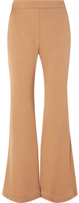 Ellery Domenico Stretch-crepe Flared Pants - Sand