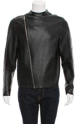 Alexander Wang Deconstructed Leather Jacket