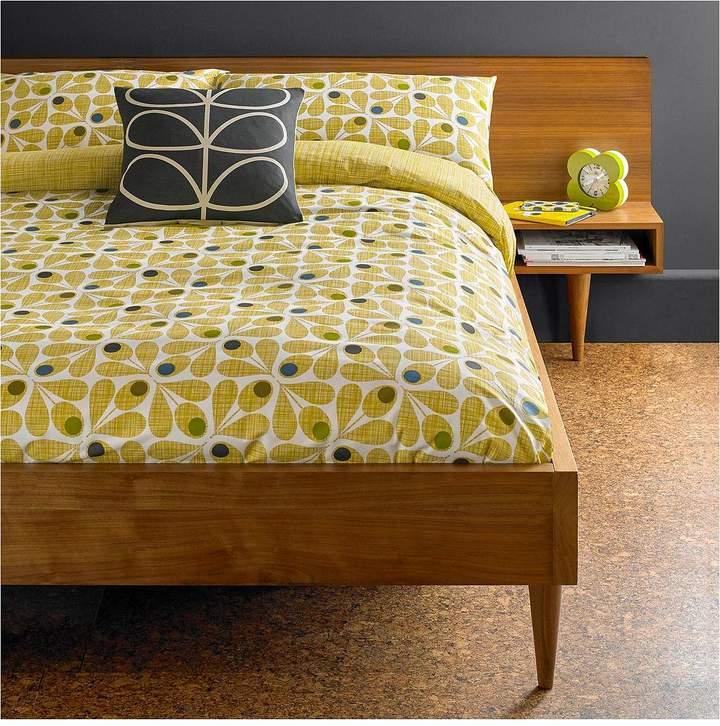 Orla Kiely House Acorn Cup 100% Cotton 200 Thread Count Duvet Cover