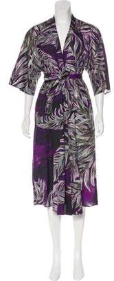Tome Floral Print Midi Dress w/ Tags