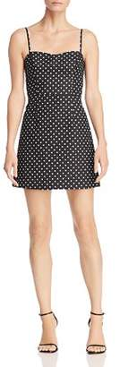 French Connection Whisper Polka Dot Sweetheart Mini Dress - 100% Exclusive