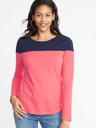 Old Navy EveryWear Color-Block Tee for Women