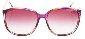 Versace Gradient Logo Sunglasses