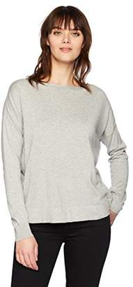 French Connection Women's Summer Knits Open Back Long Sleeve Top