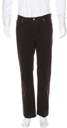 John Varvatos Five-Pocket Flat Front Pants