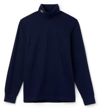 Lacoste Men's Turtleneck Cotton Pique T-shirt