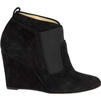 Paul Andrew Black Suede Ankle boots