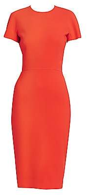 Victoria Beckham Women's Fitted T-Shirt Sheath Dress