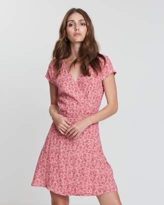 Jack Wills Lockerley Printed Soft Tea Dress