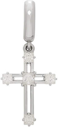 Silver Cross PS PERSONAL STYLE PS Personal Style White Cubic Zirconia Sterling Charm