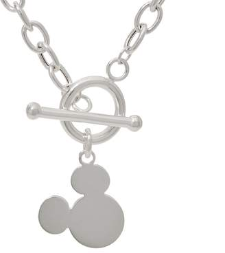 Disney Mickey's 90th Birthday Sterling Silver Toggle Necklace