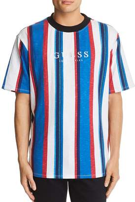 GUESS Go Sayer Striped Tee
