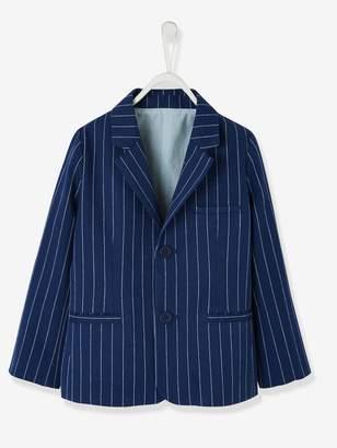 Vertbaudet Occasion Wear Cotton/Linen Jacket for Boys
