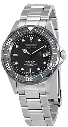 Invicta Men's 12812X Pro Diver Analog Japanese Quartz Silver Stainless Steel Watch