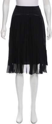 Maison Margiela Virgin Wool Knee-Length Skirt w/ Tags