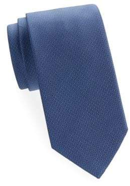 Brioni Pin Dot Silk Tie