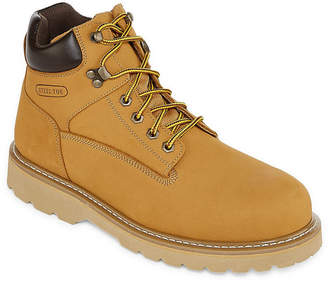 M·A·C Big Mac Mens Moore Steel Toe Work Boots Lace-up