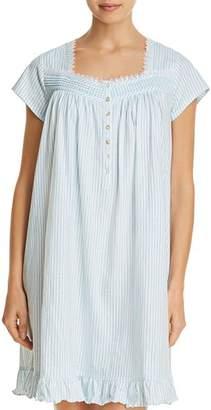Eileen West Striped Short Gown