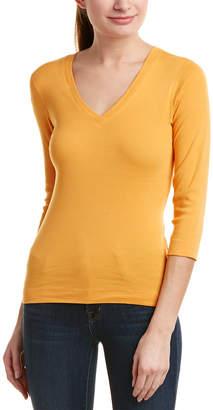Three Dots 3/4-Sleeve T-Shirt