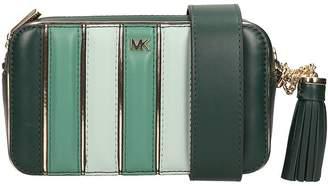 Michael Kors Green Leather Ginny Handbag