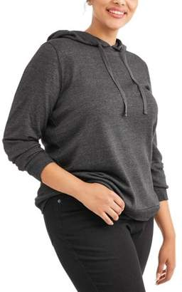 Active Women's Plus Tulip Back Hoodie