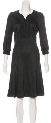 Andrew Gn Embroidered Knee-Length Dress