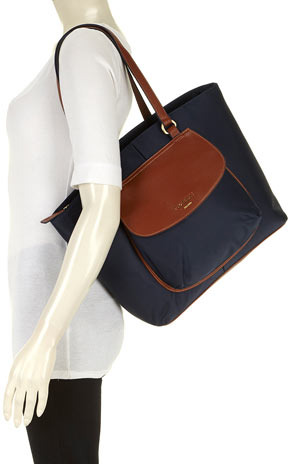 Fiorelli navy curve shopper