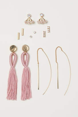H&M 6 Pairs Earrings - Gold