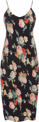 Nili Lotan Cami Floral-Print Silk Slip Dress