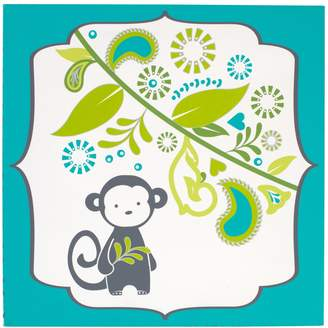 Jonathan Adler Safari Monkey Canvas Wall Art