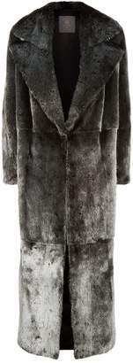 Lilly E Violetta Long Mink Fur Coat