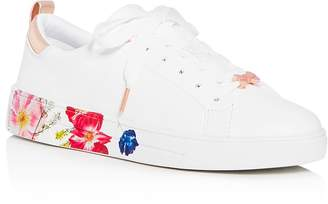 Ted Baker Women's Roully Floral Low-Top Sneakers