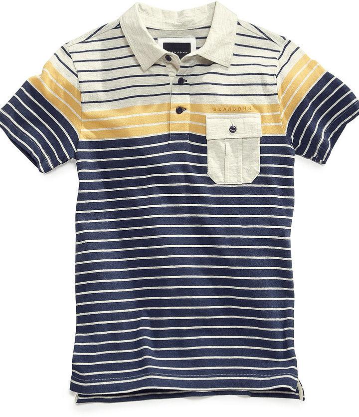 Sean John Kids Shirt, Boys Tri Stripe Polo