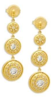 Freida Rothman Nautical Multi Drop Earrings