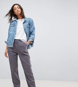 Asos Tall TALL Washed Tapered Peg Trousers
