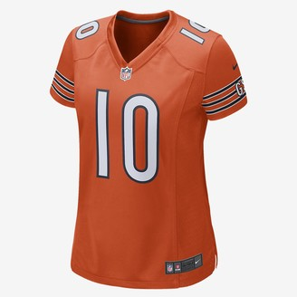 Nike NFL Chicago Bears Game (Mitch Trubisky) Women's Football Jersey