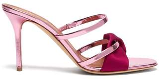 Malone Souliers Tasha Patent Leather Mules - Womens - Fuchsia