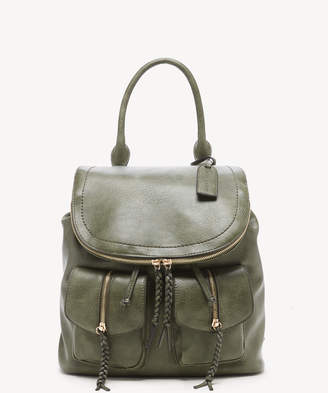 Sole Society Women's Emery Backpack Vegan Leather Olive One Size From